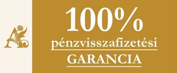 Pénzvisszafizetési garancia ékszereinkre