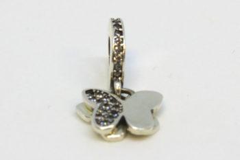 ezüst charm
